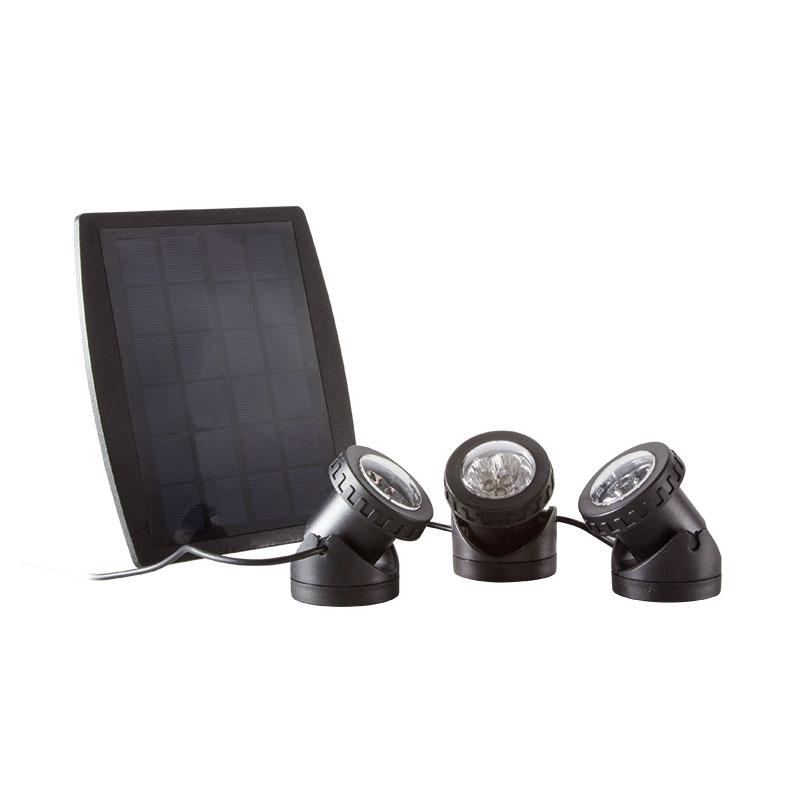 solar led strahler wasserdicht teich beleuchtung rgb led lampe garten weg ebay. Black Bedroom Furniture Sets. Home Design Ideas