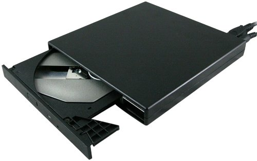 externes usb 2 0 cd rom laufwerk schwarz slim notebook pc. Black Bedroom Furniture Sets. Home Design Ideas