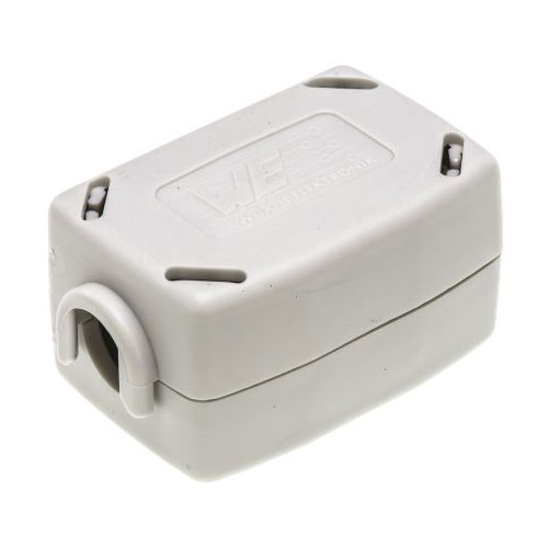6 Stueck Clip auf EMI RFI-Rausch Ferritkern Filter fuer 5mm Kabel D2Y8